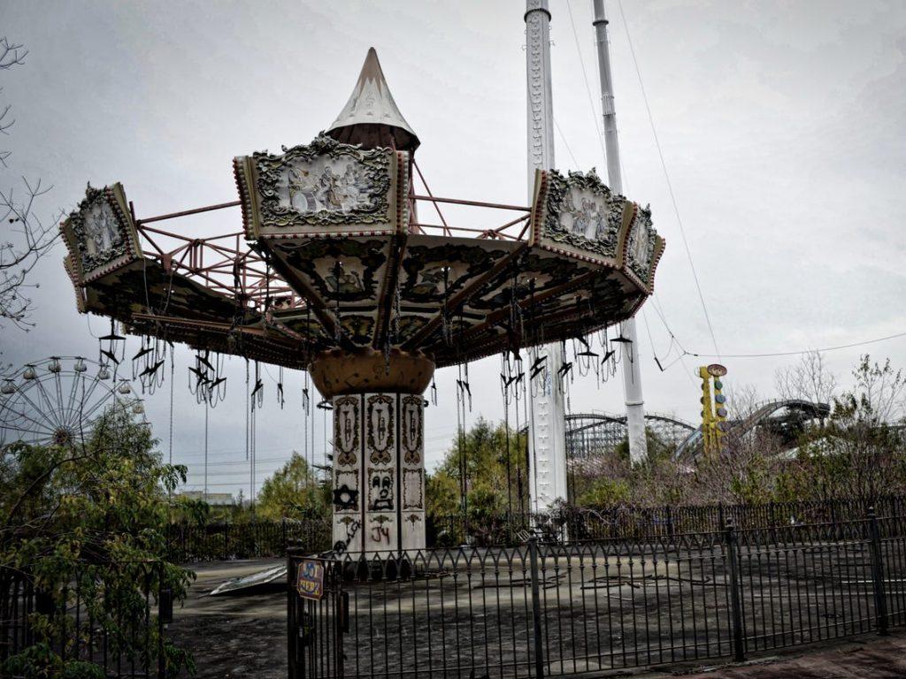 อันดับที่ 9 สวนสนุก Jazzland / six flags New Orleans , USA